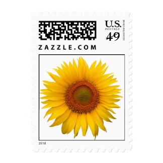 Sunflower Save The Date Wedding Invitation Postage