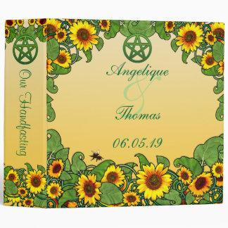 Sunflower Scroll Photo Album Binder