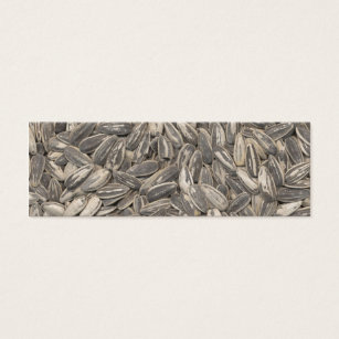 Flower seed business cards templates zazzle sunflower seeds mini business card colourmoves