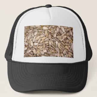 Sunflower seeds trucker hat