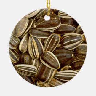 Sunflower seeds White flowers Ornaments