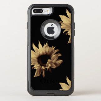 Sunflower - Sepia Fine Art Photograph Unique Cool OtterBox Commuter iPhone 8 Plus/7 Plus Case