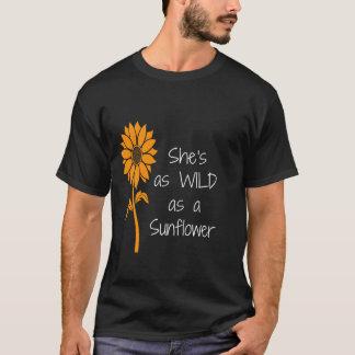 Sunflower Shirt   She is Lives Itself   Wonderfull