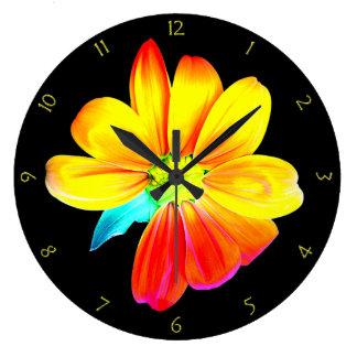 Sunflower Silhouette Wall Clocks