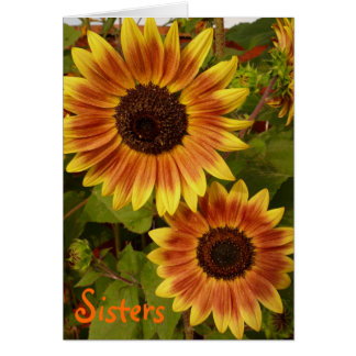 Sunflower Sisters Card