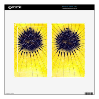 Sunflower Skin For Kindle Fire