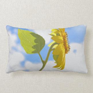 Sunflower Sky Photo Throw Pillow