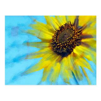 Sunflower Smear Post Card