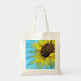 Sunflower Smear Tote