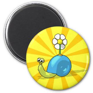 SUNFLOWER SNAIL Magnet