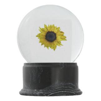 Sunflower Snow Globe