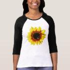 sunflower Solar Flash Hybrid Flower Womens T-shirt