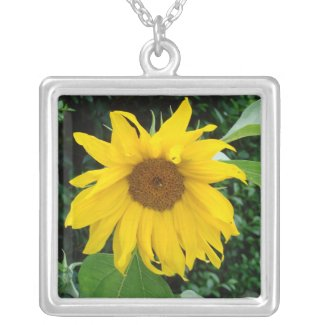 Sunflower Solo necklace