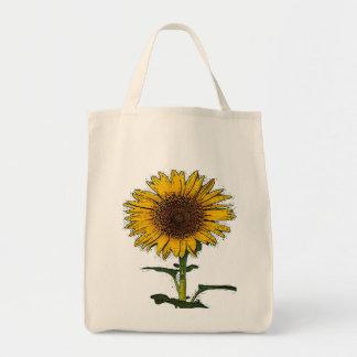Sunflower Solo Tote Bag