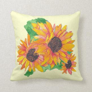 Sunflower Splash American MoJo Pillows