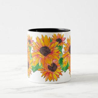 Sunflower Splash Mug