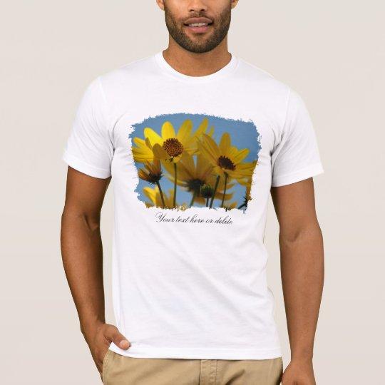 Sunflower Splash Personalized Shirt