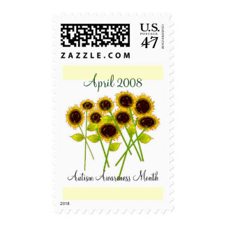 """SUNFLOWER STAMPS"" FOR AUTISM POSTAGE"