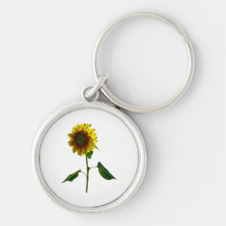 Sunflower Standing Tall Keychain