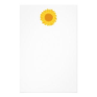 Sunflower. Stationery