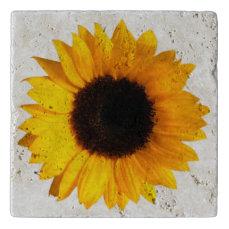 Sunflower Stone Trivet