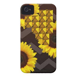 Sunflower Stud iPhone 4 Case-Mate Case