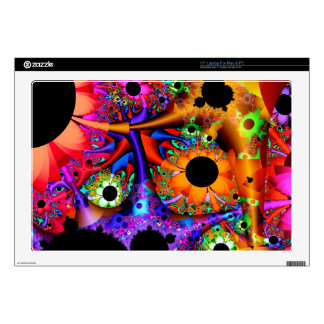 Sunflower Style Fractal Decal For Laptop