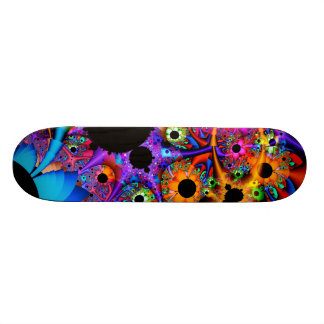 Sunflower Style Fractal Skateboard Deck