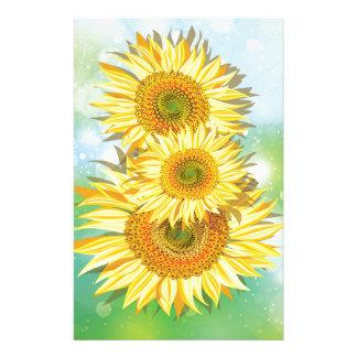 Sunflower Summer Stationery