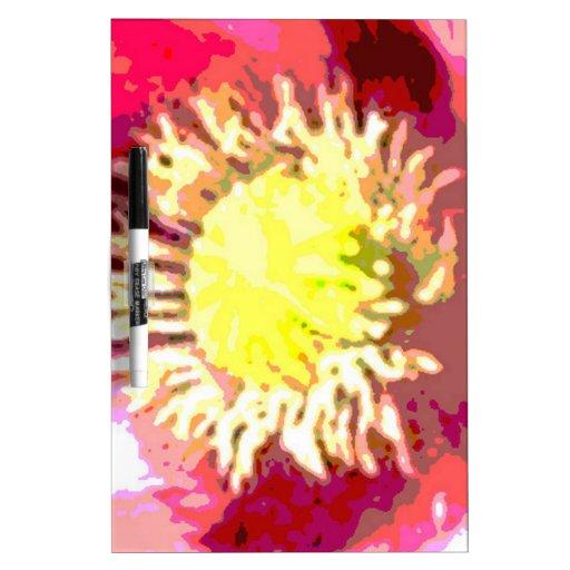 Sunflower Sun Flower Dry Erase White Board