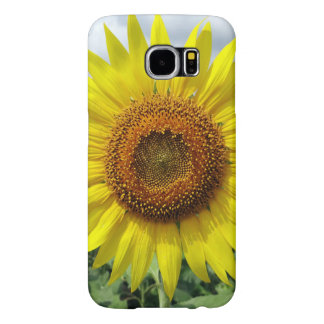 Sunflower Sun Flowers Floral Nature Look Samsung Galaxy S6 Cases