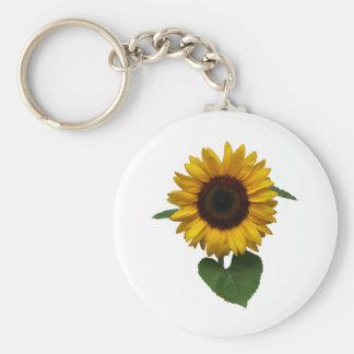 sunflower sun more flower keychain