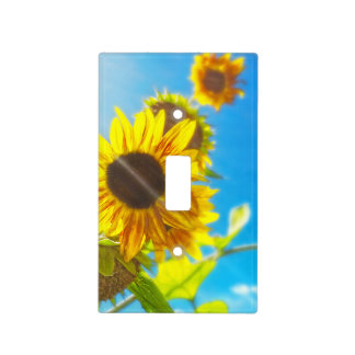 Sunflower Sunlight Single Toggle Light Switch Cover