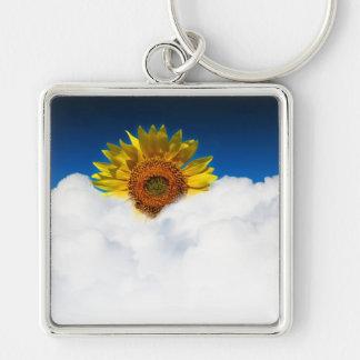 Sunflower Sunrise Keychain