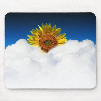 Sunflower Sunrise Mouse Pads