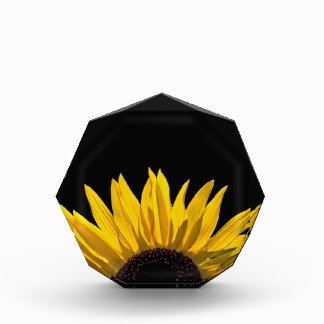 Sunflower Sunrise Paperweight Acrylic Award