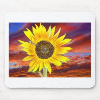 Sunflower Sunset Mouse Pad