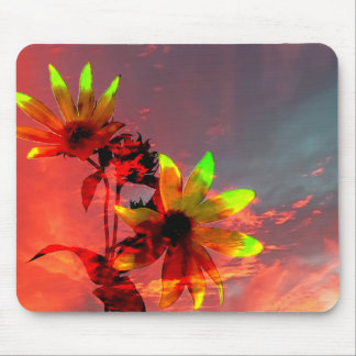 Sunflower Sunset Photo Mousepad