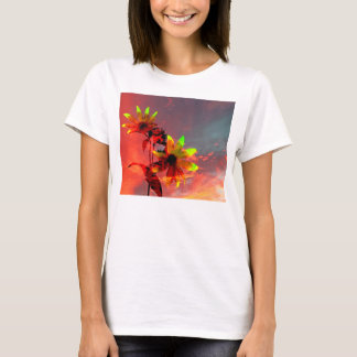Sunflower Sunset Photo T-Shirt