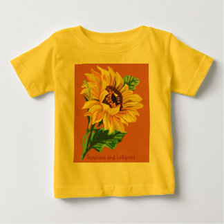 sunflower, Sunshine and Lollipops T-shirt