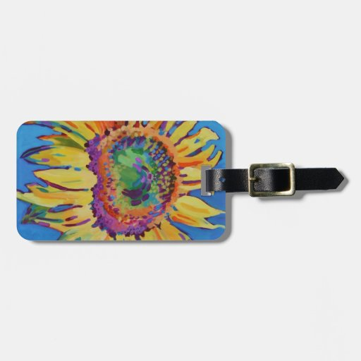 Sunflower Tags For Luggage