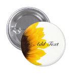 Sunflower template button