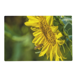 Sunflower & The Honeybee Laminated Placemats