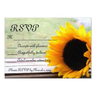 Sunflower theme card