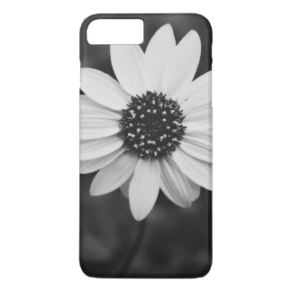 Sunflower Themed, A Black And White Picture Of A S iPhone 7 Plus Case