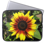 Sunflower Through the Fence Laptop Sleeve
