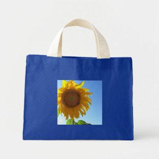 Sunflower Tiny Tote Mini Tote Bag