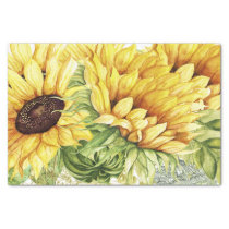 Sunflower Tissue for Gift Wrapping Tissue Paper
