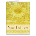 Sunflower To Customize! Greeting Card