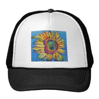 Sunflower top trucker hat